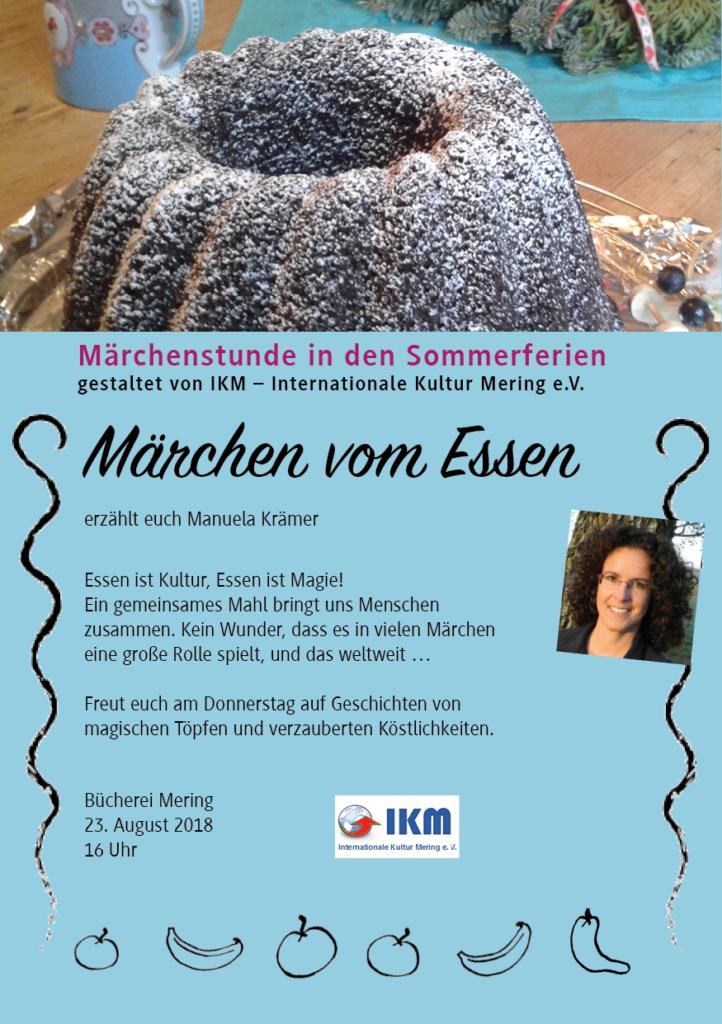 Veranstaltungen Märchenlerzählerin Manuela Krämer