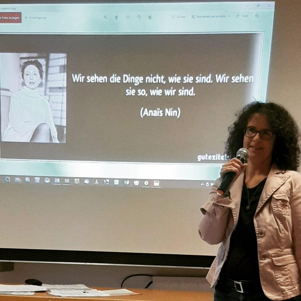 Manuela Krämers Vortrag über Anais Nin